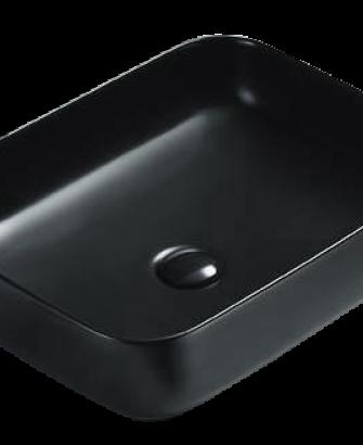 Раковина накладная TIMO SOLI ТК-305 MB